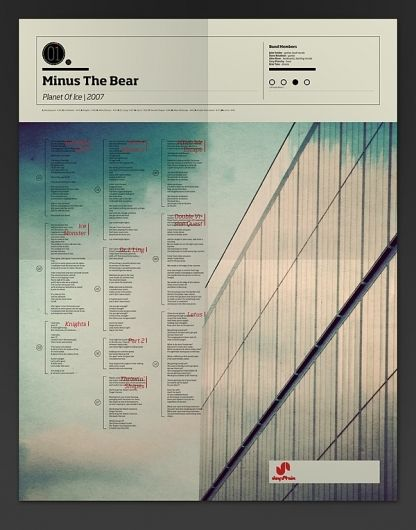 The Visual Mixtape on the Behance Network