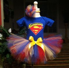 Hey, I found this really awesome Etsy listing at https://www.etsy.com/listing/189492450/super-girl-birthday-tutu-set-any-size