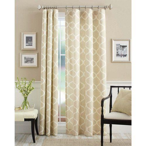 Better Homes and Gardens Canvas Curtain Panels - Walmart.com