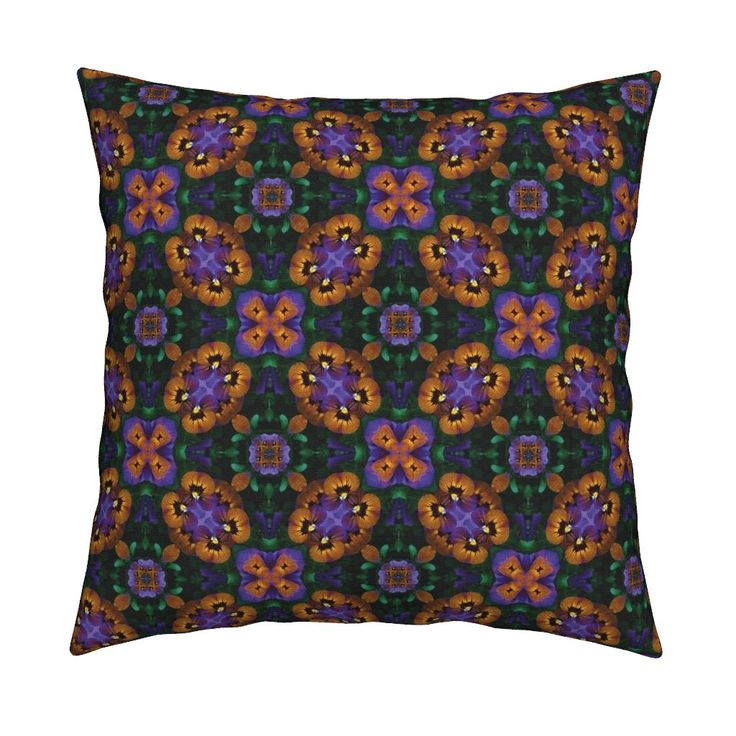 Pansy_Infinity_2 on Catalan by karwilbedesigns | Roostery Home Decor