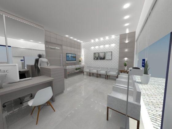 Clinica de Ultrassom - Ituporanga - Atelier de Arquitetura - Arquitetas Bianca e Bárbara - Bianca & Barbara Lehmkuhl