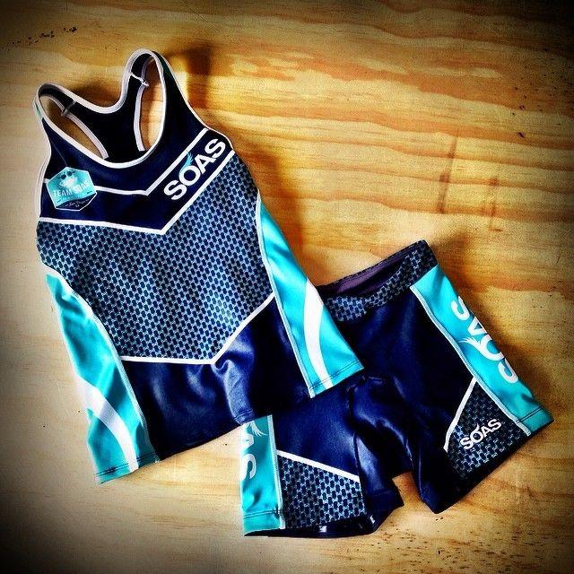 SOAS Racing Team Ambassador triathlon kit. Fitness apparel. Triathlon clothing.