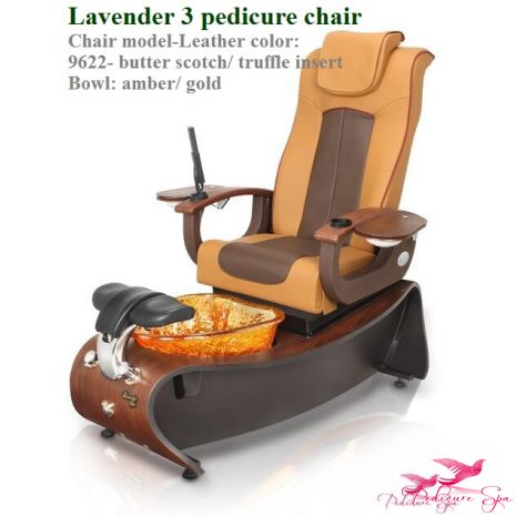 """Freeshipping + Free pedicurist stool  Call to get discount no matter how many you buy Lavender 3 Pedicure Spa Chair SUPER SALES #PedicureSpaChair *3/4 bend plywood spa base with Dark Cherry laminate *New Shiatsu Massage Chair, one of the best in the industry *New luxury diamond pattern material *Built in, foldable tray and manicure bowl *New, UL Approved CleanJet MAX; compatible with poly liners *The new """"Hard Rock"""" glass bowl, easy to clean, resistant to stains, scratches and thermal shock…"""