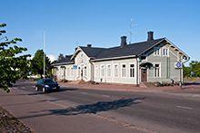 Station building 1899