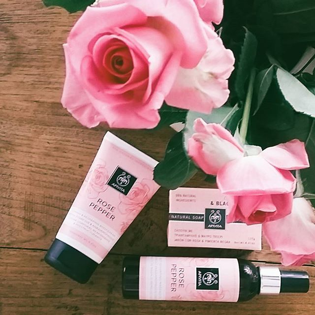 #APIVITA #naturalproducts #cosmetics #beauty #rosepepper #body ritual day! Firming, reshaping or #anticellulite intensive, choose the one your body needs!
