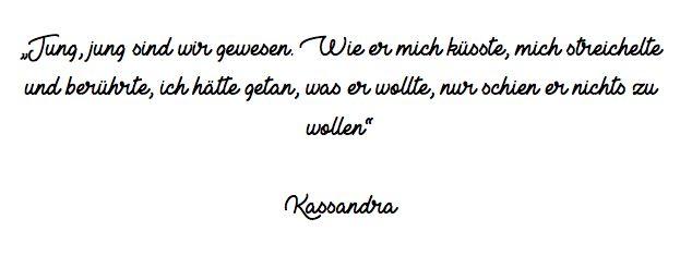 Kassandra und Aineais, Tragische Liebe.