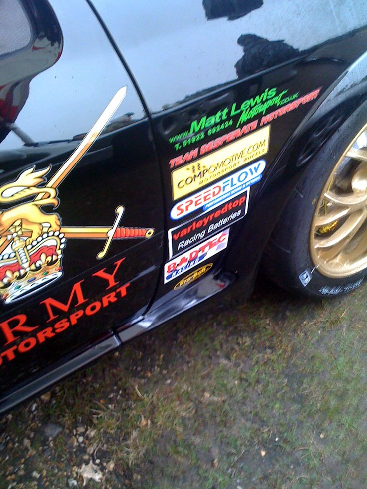 Mark Saunders (British Army Motorsport) RSCosworth