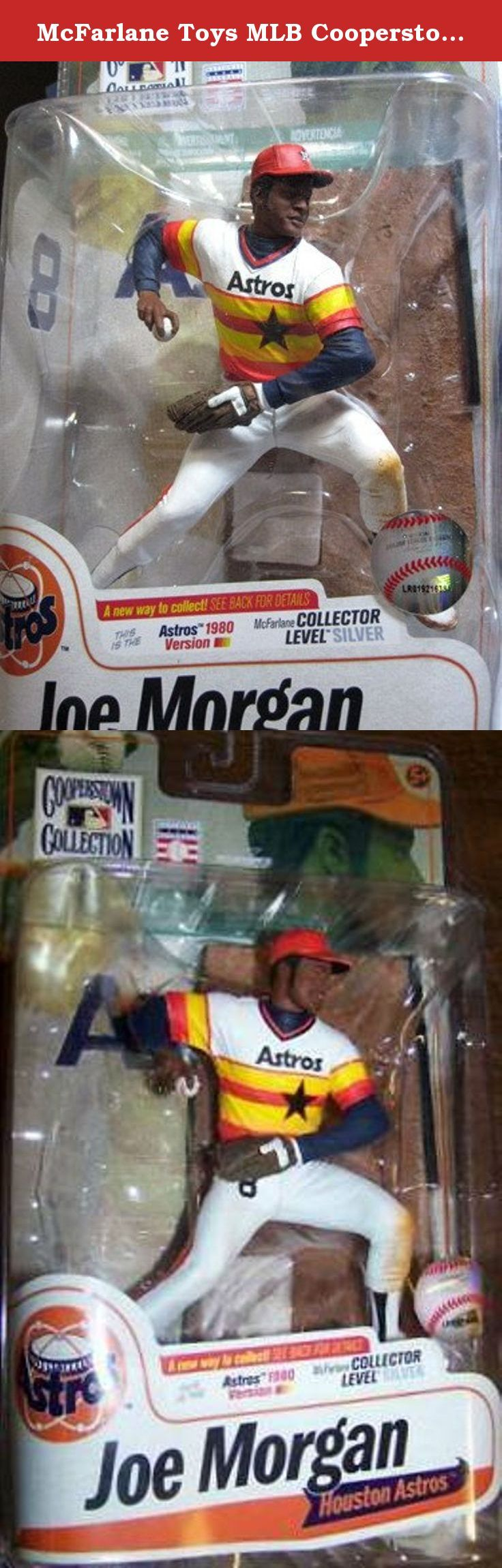 McFarlane Toys MLB Cooperstown Series 7 Action Figure Joe Morgan (Houston Astros) Rainbow Jersey Silver Collector Level Chase. Morgan was traded to the Cincinnati Reds as part of a blockbuster multiplayer deal on November 29, 1971, announced at baseballs winter meetings. Morgan is now one of the broadcasters for ESPNs Sunday Night Baseball, along with Jon Miller. He is highly regarded as one of the greatest second baseman in baseball history.