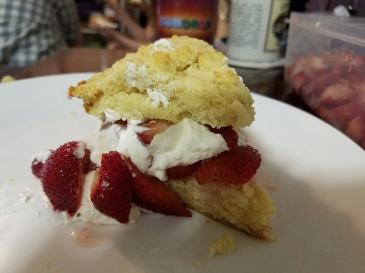 all American strawberry shortcake