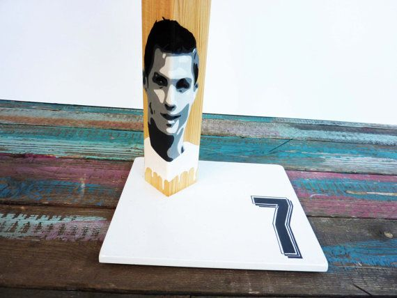 CR7. Unique handcrafted handpainted by QrtosCreations