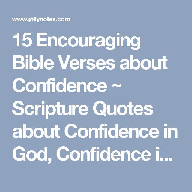 best 25 bible verses about confidence ideas on pinterest