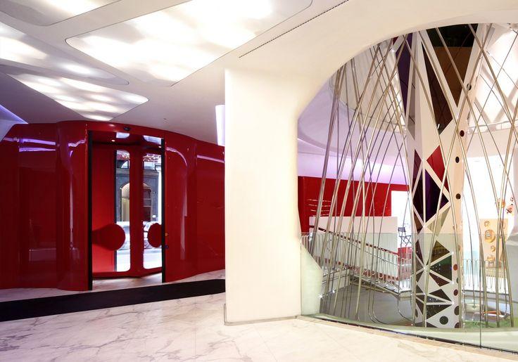 Entrance, Boscolo Milano, milan italy by Simone Micheli