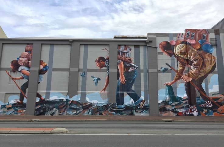 @sherriewilsonprojects  #fintanmagee #perth #streetart #mural   http://www.sherriewilsonprojects.com/