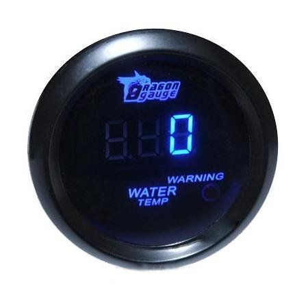 """Brand NEW 2"""" 52mm Blue Digital Water Temp Temperature Celsius Gauge for Car by nj365. Save 34 Off!. $26.99. If you are not satisfied with something, please don't leave us negative or neutral feedback right away. Please contact us via email. We promise to provide 100% fine customer service and try best to make every customer get good mood with fine shopping experience here. This gauges will precisely monitor the temp within your coolant that is within a range of 40to 120 celsius. This ser..."""