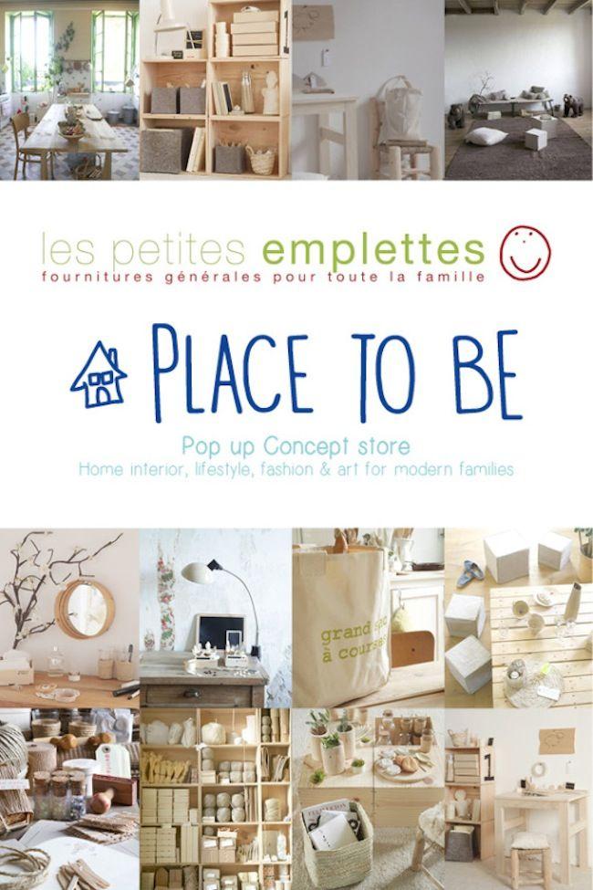 PLACE TO BE, pop-up concept-store de l'agence 2B&Co     Les petites emplettes • Ma Sérendipité