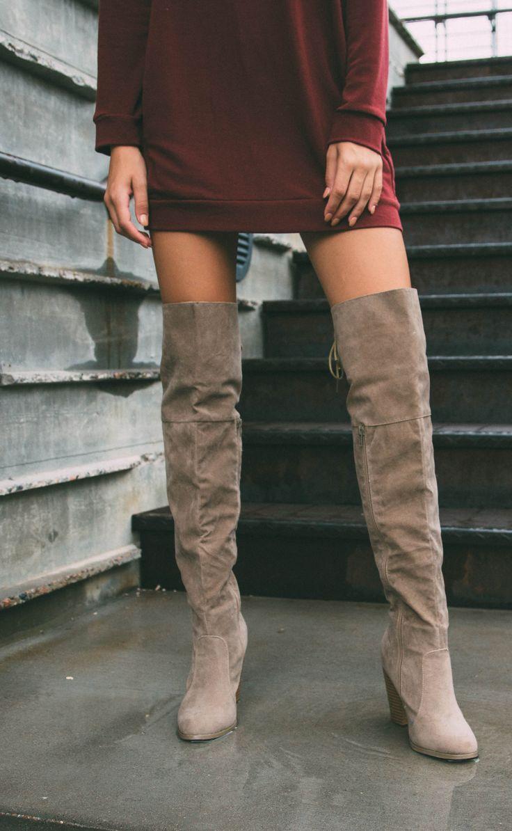 17 Best Ideas About Knee High Boots On Pinterest Women S