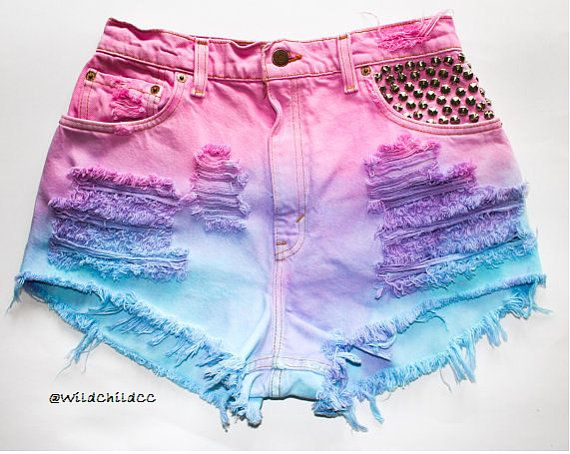 1000  images about High waisted shorts on Pinterest | Studded ...