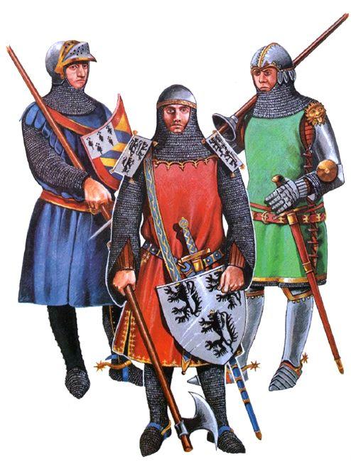 """• Étienne II de Montagu • Jehan Vilain • English knight, c. 1340"", Christopher Rothero"