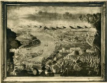 Buda az 1700-as években - Forrás: bpkep.fszek.hu Blogposzt: http://emlekezzbudapest.blog.hu/2015/04/26/mikor_van_budapest_szuletesnapja