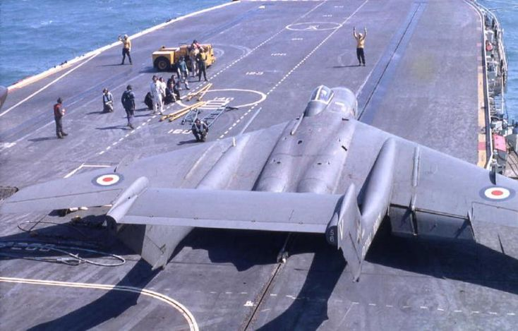 The Royal Navy's Sea Vixen fighters were death traps. 145 Sea Vixens were built, of these 37.93%.were lost over the aircraft's types twelve-year operational life. More than half of the incidents were fatal. The Sea Vixen entered service in 1959 (despite a first flight eight years earlier), two years later than the US Navy's Vought F-8 Crusader. The F-8 was more than twice as fast as the Sea Vixen, despite having 3,000Ibs less thrust. The ten worst British military aircraft | Hush-Kit