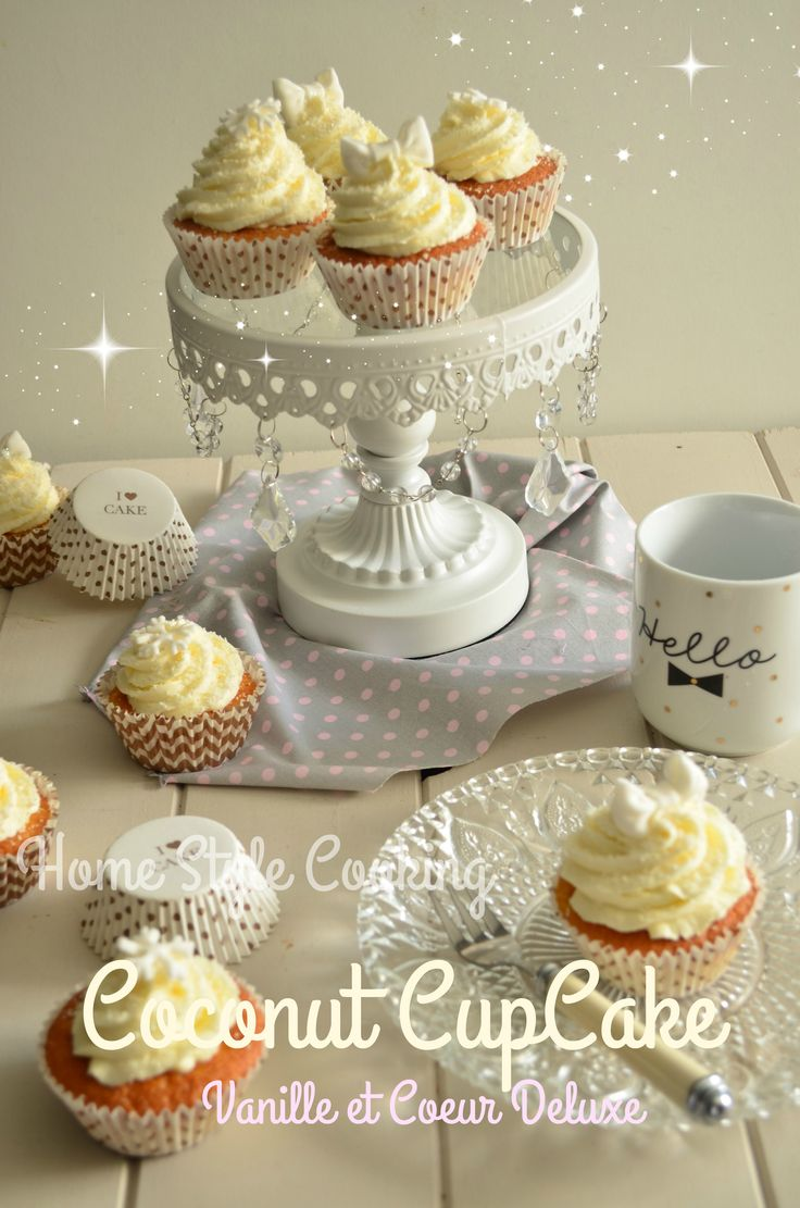 Home Style Cooking -Vanilla Coconut CupCake