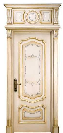 Door Decoration In Classic Style