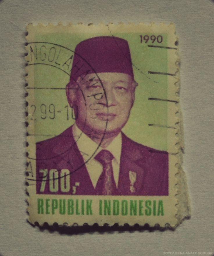 perangko tahun 1990 (Rp 700)