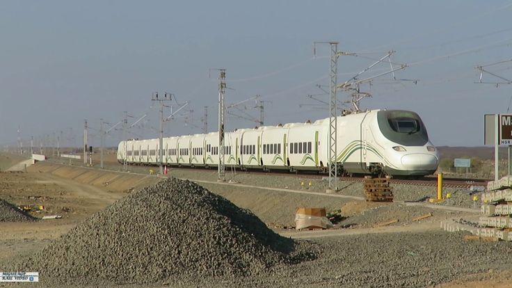 First Talgo HST to Medinah - Primer Talgo en Medina - HHR Haramain - KSA
