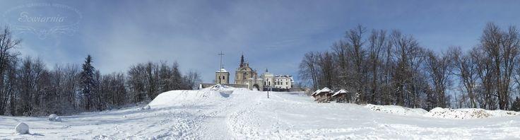 Winter in the Świętokrzyskie Mountains, Holly Cross, Poland