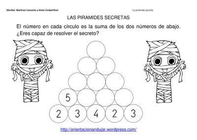 TE CUENTO UN CUENTO: Acertijos matemáticos.