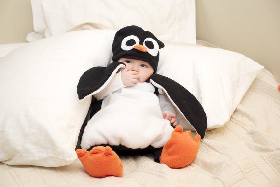 penguin costume baby