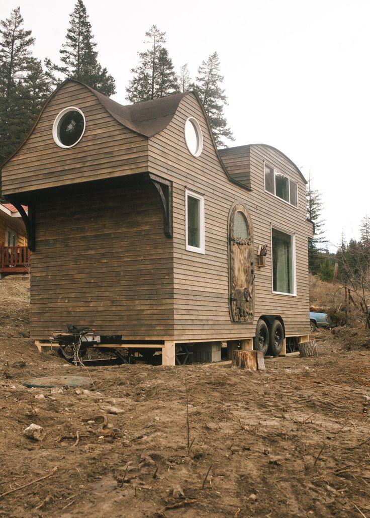 166 besten cottage cabin tiny hobbit houses bilder auf. Black Bedroom Furniture Sets. Home Design Ideas