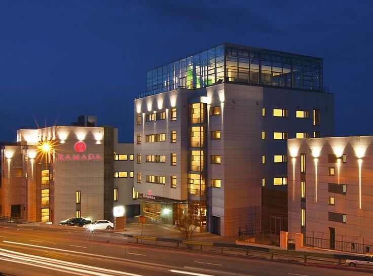 Ramada Hotel by night