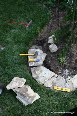 Gardening with Greggo: Field Stone Edging DIY