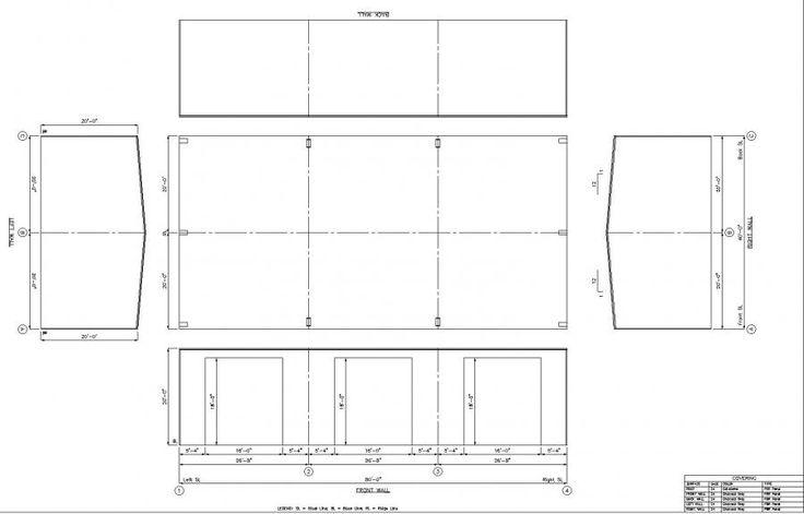 40' x 80' x 20' Steel Building for Sale - FERNANDINA BEACH, FL 32034   LTH Steel Structures