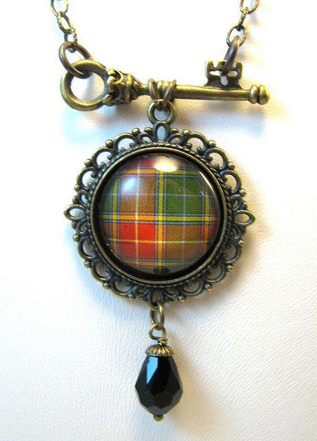 Ancient Romance Series - Scottish Tartans - Baxter Key Necklace, via Flickr.