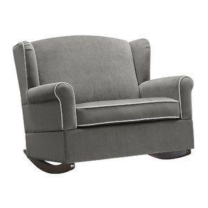 Best Lainey Loveseat Rocker Nursery Rocker Chair A Half Chair 400 x 300