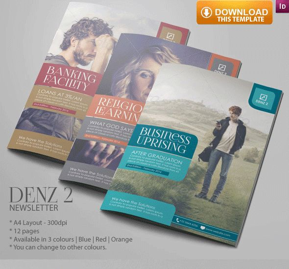 65 Best Newsletter Ideas - 100 Indesign Templates Images On