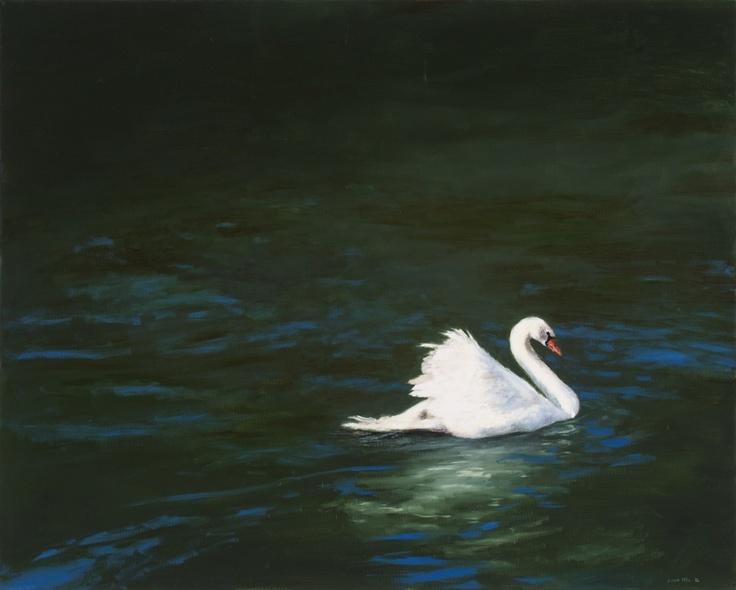 Luan Nel / Mute / oil on canvas / 60,5 x 75,5 cm