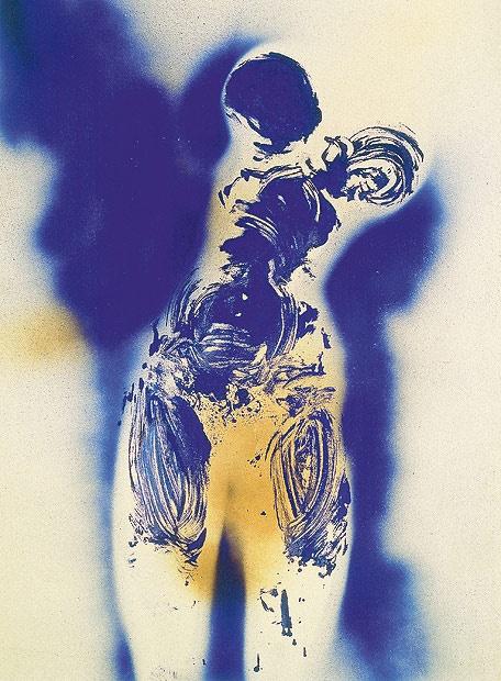 Yves Klein, Antropometria , 1960  lajunglaplus.net