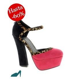 Maravillosos zapatos de Asos para combinar con un total look de Vestidia.