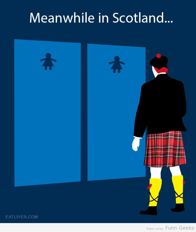 Meanwhile in Scotland… #funny #gag #lol #funnyimages