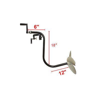 Hélice Manual Inflável Bote De Motor De Popa Motor de arrastão
