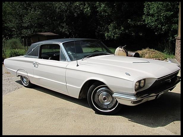 1966 Ford Thunderbird Town Landau Ford Thunderbird 1966