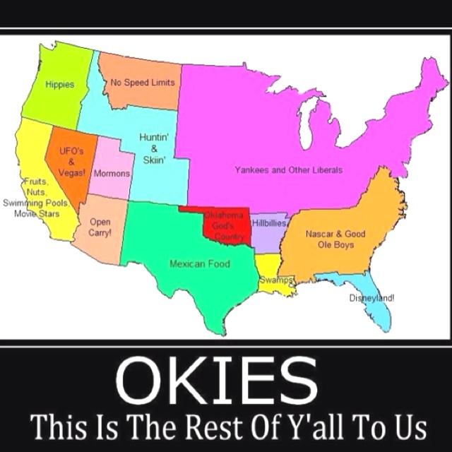 Oklahoma funny: so true
