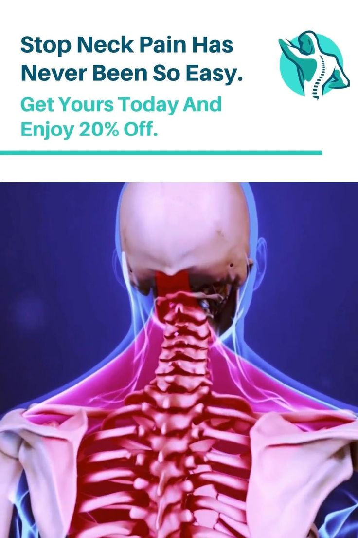 Pin on how to stop neck pain