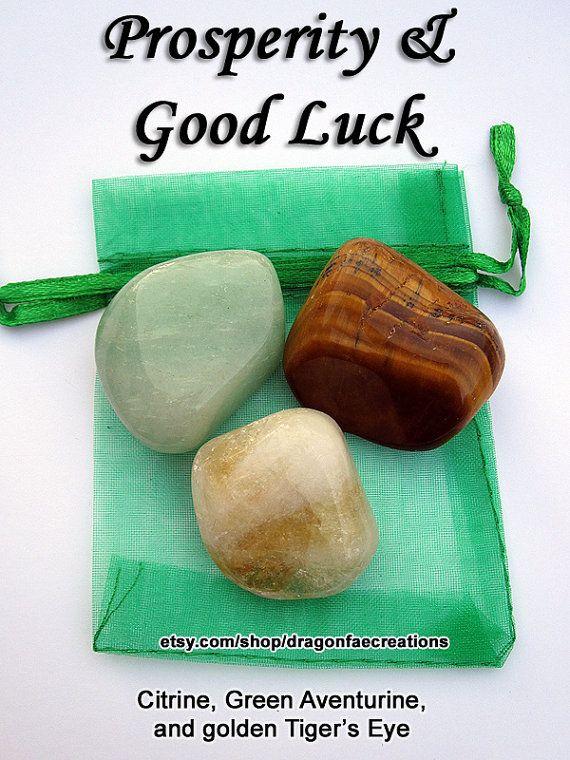 Self Confidence Crystal Healing Set by dragonfaecreations on Etsy  ❦ CRYSTALS ❦ semi precious stones ❦