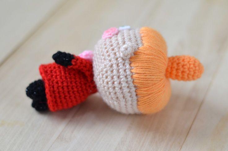 Little My from The Moomins. Free amigurumi pattern!