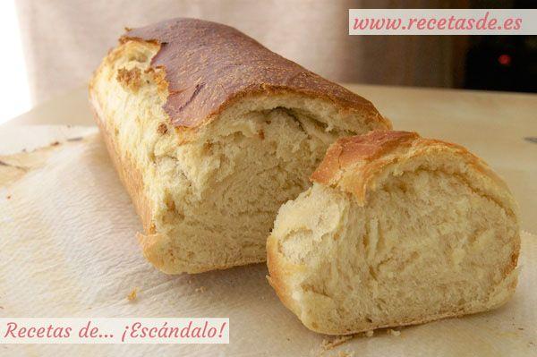 Cómo hacer pan de molde casero. Prepáralo en casa y no volverás a comprarlo ya hecho ;)