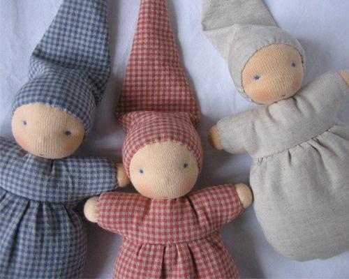 baby dolls, handmade @ nordliebe.com